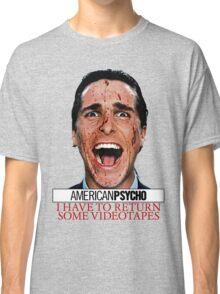 American Psycho - Patrick Bateman - Christian Bale Classic T-Shirt