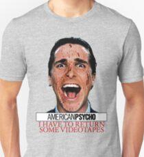 American Psycho - Patrick Bateman - Christian Bale T-Shirt