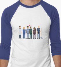 Everybody's Favorite Doctors. Men's Baseball ¾ T-Shirt