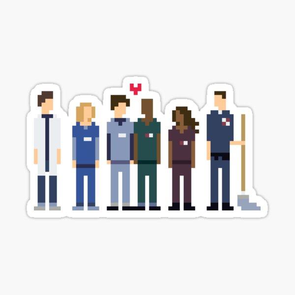 Everybody's Favorite Doctors. Sticker