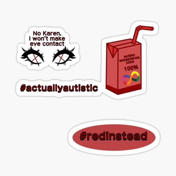 Actually Autistic Sticker