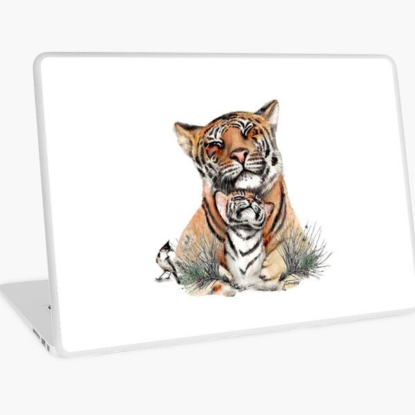 The Animal Project (Tiger) by JTMUSES Laptop Skin
