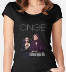 Once upon a time - Regina Mills Women's Fitted Scoop T-Shirt