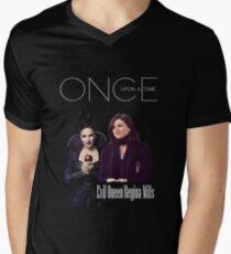 Once upon a time - Regina Mills Men's V-Neck T-Shirt