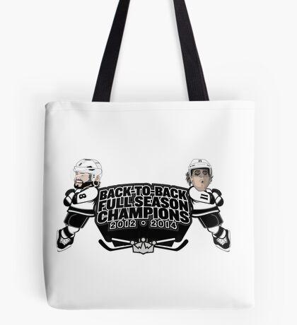 Back to Back Full Season Champions - Cartoon Tote Bag
