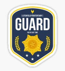 Litchfield Penitentiary : Guard  Sticker