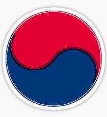 Yin and Yang of Korean Flag Taegukgi Sticker