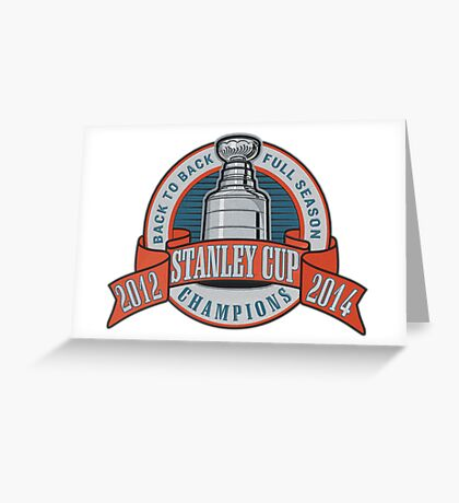 Back to Back Full Season Champions - Retro (Stitched) Greeting Card