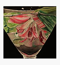 Flowers Drowning series - Asiatic lily Photographic Print