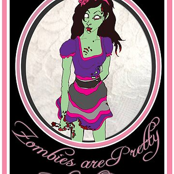 Zombies Are Pretty.. but need brains.. Bloody.. by Simplastic