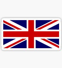 Union Jack, British Flag, UK, United Kingdom, Pure & simple, 1:2 Sticker