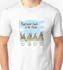 Four Great Chiefs of the Plains T-Shirt