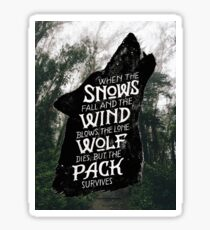 A Game of Thrones Sticker
