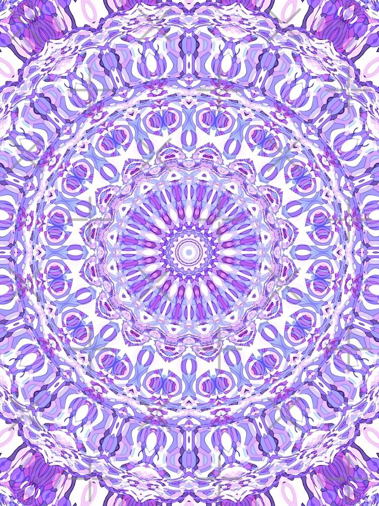 Violet Ray Mandala by kellydietrich