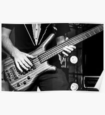 5 Stringed Bass Poster