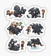how to train your dragon panini stickers