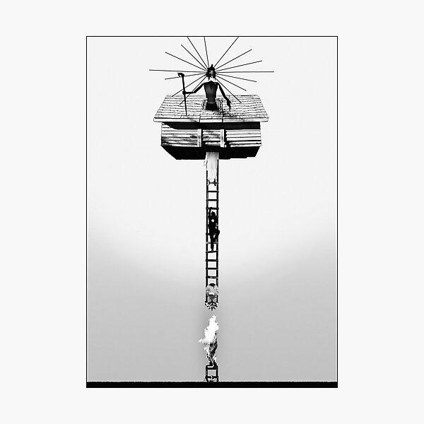 Hereditary alternative film poster — Ascension (version 2) Photographic Print