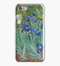 Vincent Van Gogh - Irises.  Van Gogh - Irises Impressionism Flowers 1889 iPhone Case/Skin
