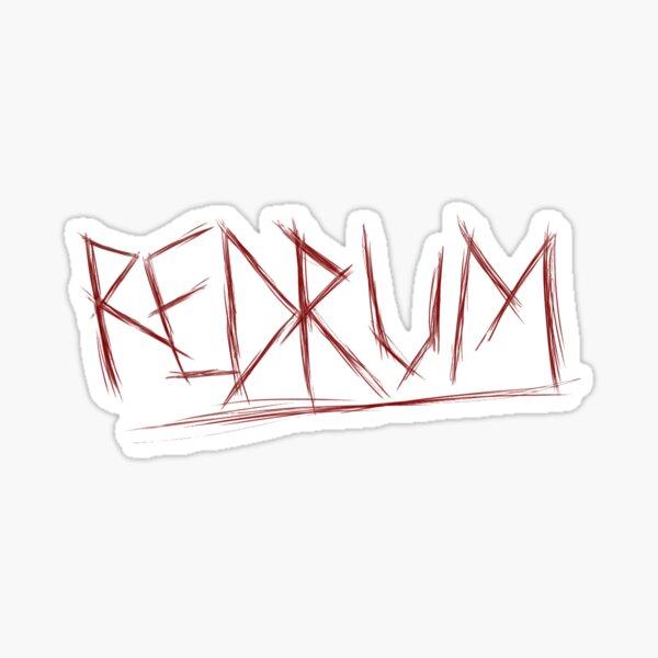 REDRUM - Stephen King's The Shining Sticker