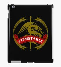 The Constable Coat-of-Arms iPad Case/Skin