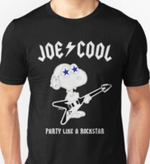 Snoopy Joe Cool Rock Unisex T-Shirt