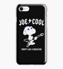 Snoopy Joe Cool Rock iPhone Case/Skin