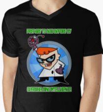 Dexter's Laboratory  Men's V-Neck T-Shirt