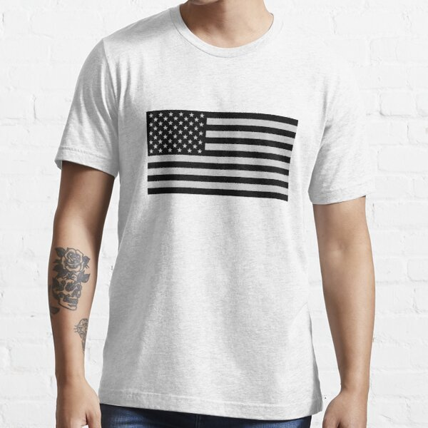 USA Dark Flag Essential T-Shirt
