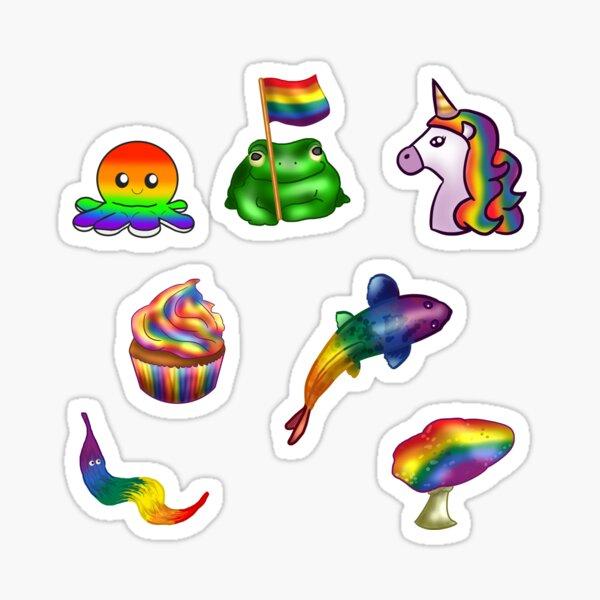 LGBTQ Pride Flag Sticker Pack Sticker