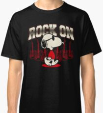 Snoopy Rock Classic T-Shirt