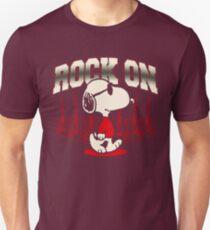 Snoopy Rock Unisex T-Shirt