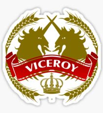 The Viceroy Coat-of-Arms Sticker