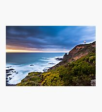 Cape Schanck Sunset on the Mornington Peninsula Victoria, Australia Photographic Print