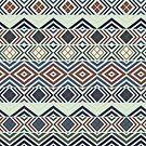 Geometrisches ethnisches Muster von Viktoriia