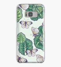 butterflies in the garden Samsung Galaxy Case/Skin