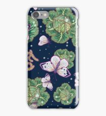 mischief in the garden iPhone Case/Skin
