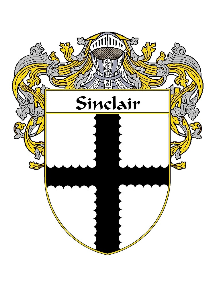 Quot Sinclair Coat Of Arms Sinclair Family Crest Quot By William