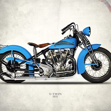Crocker V-Twin 1937 by rogue-design