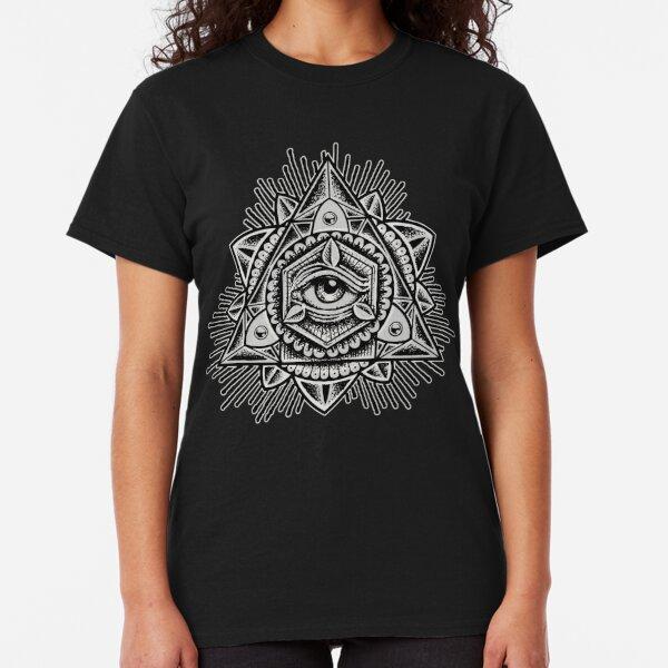 Sacred Trinity Eye BW Classic T-Shirt