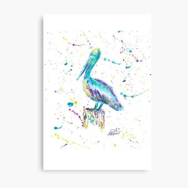 Pelican by Jan Marvin Metal Print