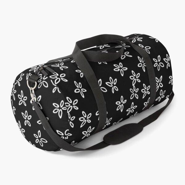 Little White Flowers Duffle Bag