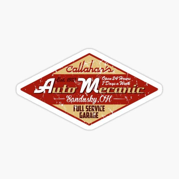 Mécanicien automobile de Callahan Sticker