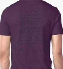 Mad Max: Fury Road - Back TATTOO (Upside Down) Unisex T-Shirt