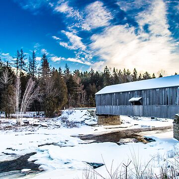 The Covered Bridge by JustinConnors