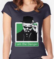 """""""I am the Danger"""" _ Heisenberg Women's Fitted Scoop T-Shirt"""