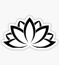 Lotus Flower - Purity, Enlightenment, Rebirth Sticker