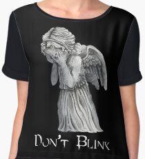 Don't Blink! Women's Chiffon Top