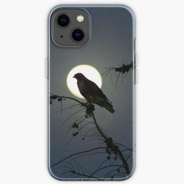 Bird and Moon iPhone Soft Case