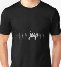 Jeep - Heartbeat Unisex T-Shirt