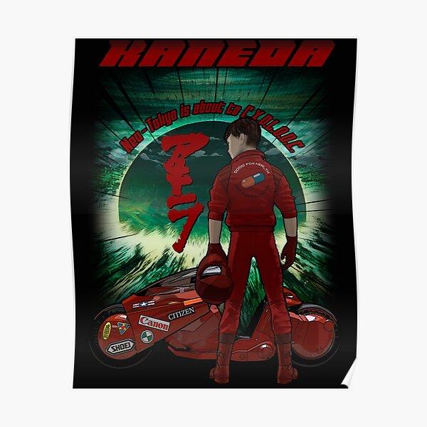 Kaneda Shotaro Poster 17x24inches